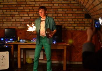 Vystoupení na 40tinách v Kobylí